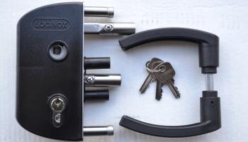 Dārza slēdzene LOCINOX, 40 mm
